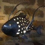 lampe poisson et algues 50 cm