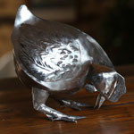 poule zinc brut 27cm