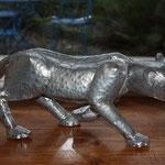 fauve zinc brut 60 cm