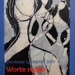 """""""Worte reden - Worte schweigen"""" Anthologie zum Dorstener Lyrikpreis 2013"""