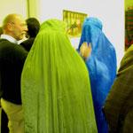 """Ausstellung/ Kunst aktion"""" Burka mit art"""""""