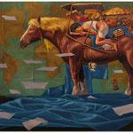 A Dreamwalker, Öl auf leinwand, 60X80 cm