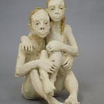couple 2020 Terracotta  42 x 30 x40 cm