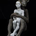 la femme et le minotaure 2018 Terracotta 80 x 46 x 69 cm