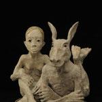 """Le songe d'une nuit d'été"""",  2014, Bronze,  35 x 30 x 30 cm"""