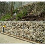 Heavy duty Gabion wall
