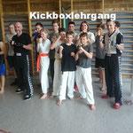 Kickbox Lehrgang, Poltringen 21.04.2018