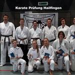 Karate Prüfung, Hailfingen 27.10.2018