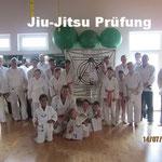 Jiu-Jitsu Prüfung, Altingen 14.07.2018