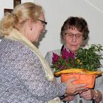 Christiane mit Luitgard bei ihrer Ernennung