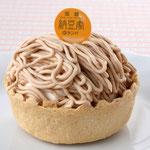 スイート納豆モンブラン (367円) フランス産マロン使用。自信作です!