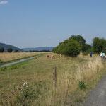 Zwischen Roth und Argenstein wird ein etwas abenteuerlicher Weg getestet.