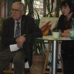 Begrüßung durch den 1.Vorsitzenden Prof.Dr.Dr. Keil, Einführung durch Dr. Birgit Klein