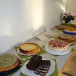 Wie immer ein tolles Kuchenangebot