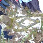 Das Schwedengrab von 1633 bei Hachborn