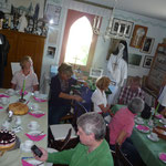 Kaffee und Kuchen im Dorfmuseum Hachborn