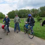Kurzer Halt am 8. Mai 2017 zwischen Ebsdorf und Hachborn...