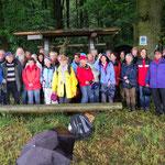 Nass, aber frohen Mutes auf dem Hugenotten- und Waldenserpfad