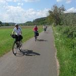 Auf dem Weg nach Rauschenberg am 19. Mai 2014