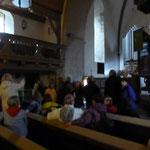 In der Martinskirche in Dautpe
