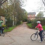 Besuch beim Rapunzel-Häuschen in Amönau am 20. Oktiober.