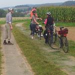 Am 8. September sind wir im Wetschaftstal unterwegs nach Obersimtshausen.