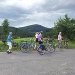 ... und eine herrliche Aussicht, z.B. auf den Rimberg.