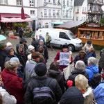 Einstimmung auf Marburgs Marktplatz