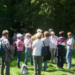 August 14 Kurzes Verschnaufen nach dem Aufstieg zum Frauenberg