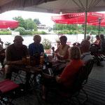 """Einkehr im """"Boothaus"""" in Giessen am 28. Juli"""