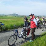 Auf dem Rückweg von Schweinsberg am 05. Mai 2014 ...