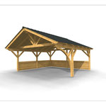 Carport 3D Visualisierung