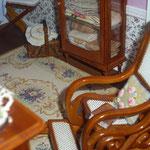 Cojín realizado y bordado por Pedro Trigos: Pedrete Miniaturas
