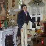 Personaje modelado y vestido por M. Nieves