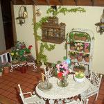 Fuente zen y florero de Mavi Fernández: Minimacetas; macetero con vela de Yayín
