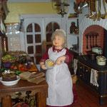 Personaje modelado y vestido por Alicia Volta: Aligra dolls