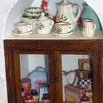 Cubretera de Pedro Trigos: Pedrete Miniaturas; cajitas y frascos de Montse Monllor: Monimon