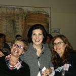 Con Susana López del Toro y Gema Minayo