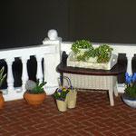 Plantas de Montse company, lavanda y cactus de Mavi Fernández