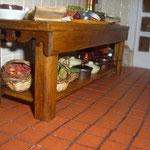 Cesta de setas de Montse Monlllor: Monimon; cestas de peras y espárragos de Montse Riqué