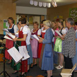 Der Lehrerchor singt Gstanzl