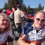 Zufälliges Zusammentreffen mit unseren neuen Münsteranern Libor-RTF-Fans vom Radclub Münster