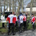 Burg Zur Burg Permanente mit Radsportfreunden gemeinsam abfahren