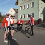 11.04.2015 Zwenkau: Samstag Start nach Zwenkau zur RTF