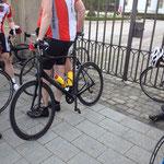 Training: 24.04.2014 - Der RMC gratuliert unsern Korfi zum tollen neuen Rennrad! Geil...