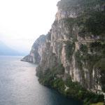 Abfahrt Lago di Garda, alte Militärstraße
