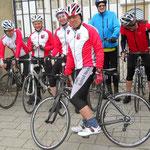 """Training: 10.04.2014 - Der RMC gratuliert Klaus zu seinem neuen """"heißen"""" schnellem Rad!"""