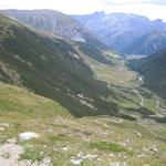 Abfahrt nach Livigno