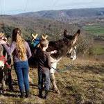 Rando à dos d'âneClédat, correze, village abandonné, visite, randos, VTT, dos d'ânes, Cheval, fête des roses, cocquelicontes, fête du pain, maquis,