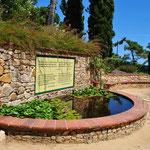 Visite d'un jardin